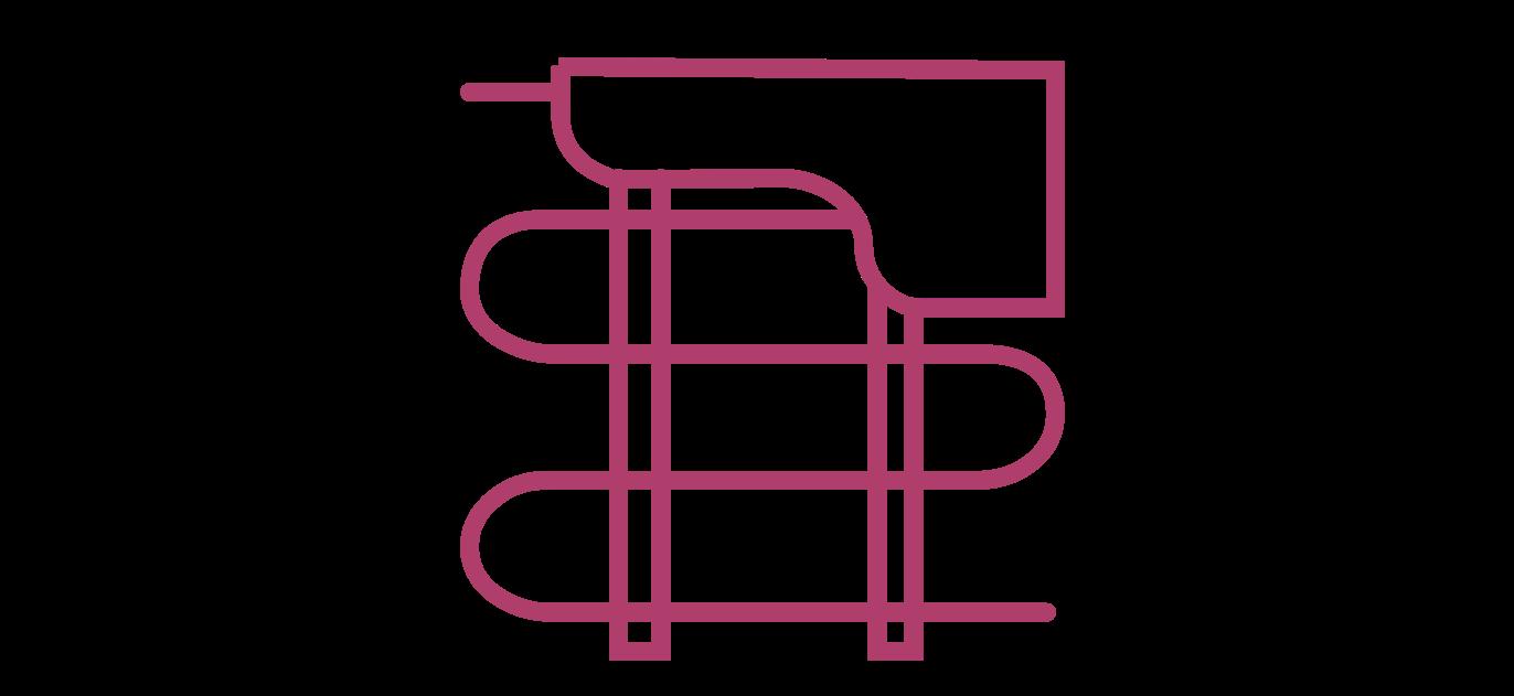 Ikona korzyści - ogrzewanie podłogowe